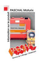 PASCHAL Maturix - Information sur le produit