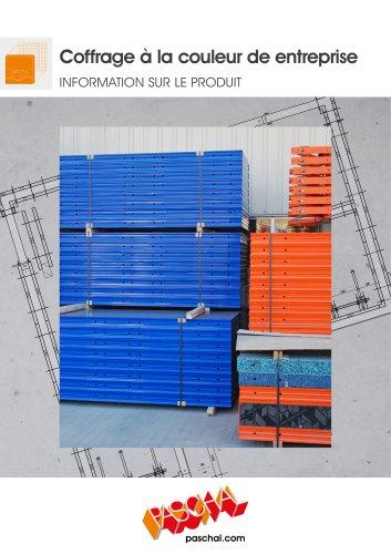 PASCHAL Systèmes de coffrage dans la couleur de votre société - Flyer