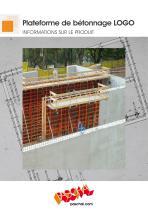 Plateforme de bétonnage LOGO.3 - Information sur le produit