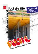 Poutrelle H20 - Information sur le produit - 1