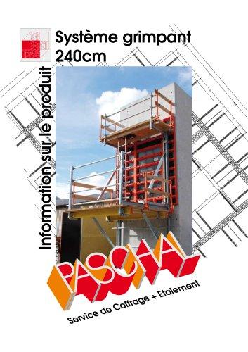 Système grimpant 240cm - Information sur le produit