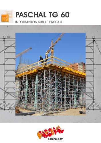 TG 60 Tour étaiement UNIVERSEL - Information sur le produit