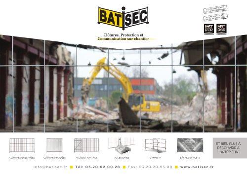 Clôtures, Protection et Communication sur chantier