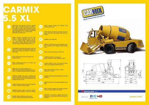 CARMIX 5.5 XL