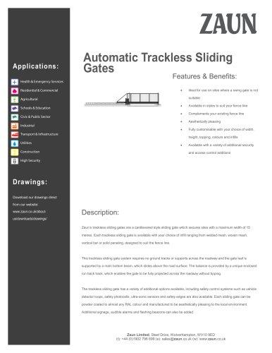Automatic Sliding Gate