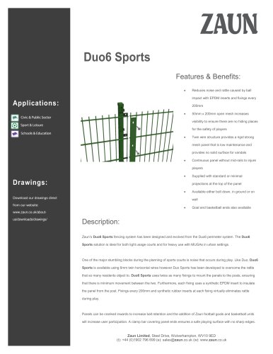 Duo6 Sports
