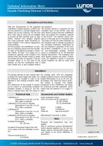 Facade Finishing Element LUNOtherm