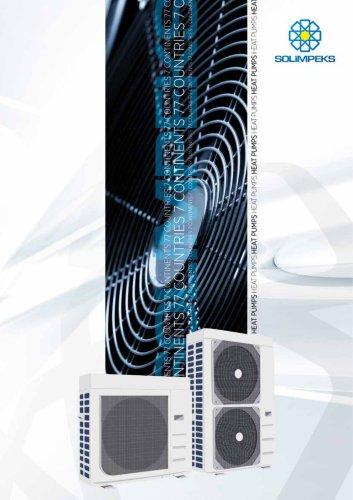 i-HWAK/V4 Inverter monoblock heat pump.