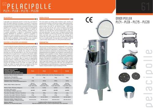 PLC4 - PLC8 - PLC15 - PLC20
