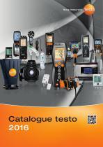 Catalogue Testo 2016