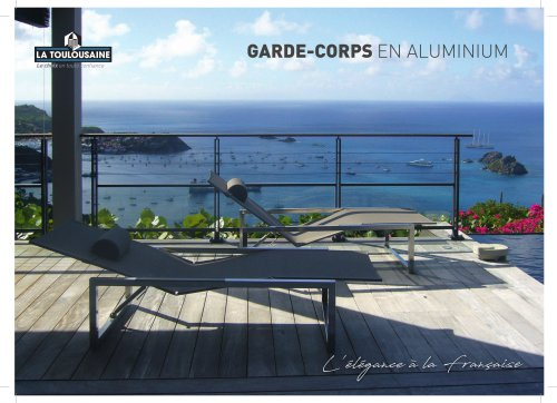 Catalogue garde-corps
