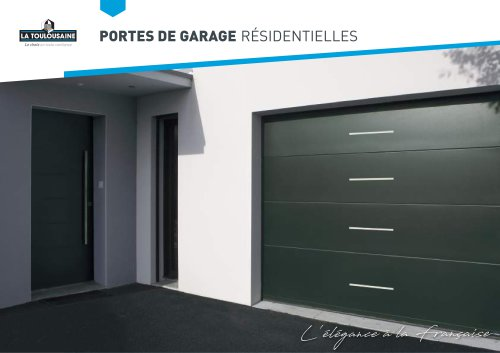 Catalogue portes de garage