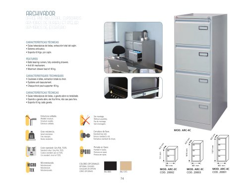 OFFICE AND INDUSTRIAL CUPBOARDS