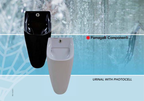 Urinal with photocell