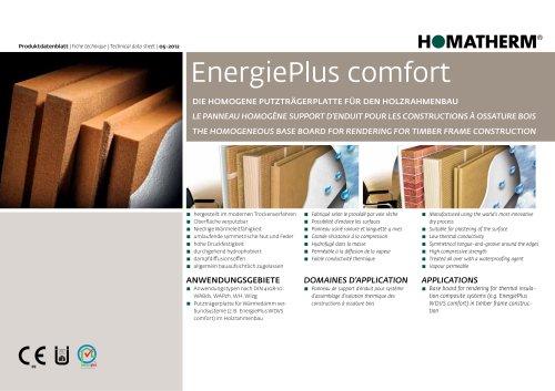 energie plus comfort