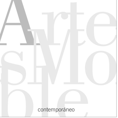 ArtesMoble Contemporain Volume 1