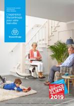 Catalogue monte-escalier