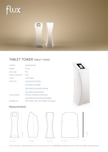 FLUX TABLET TOWER