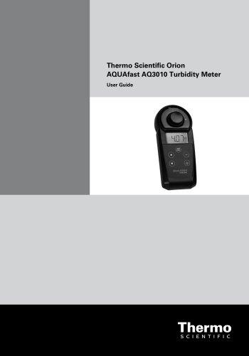 AQUAfast AQ3010 Turbidity Meter