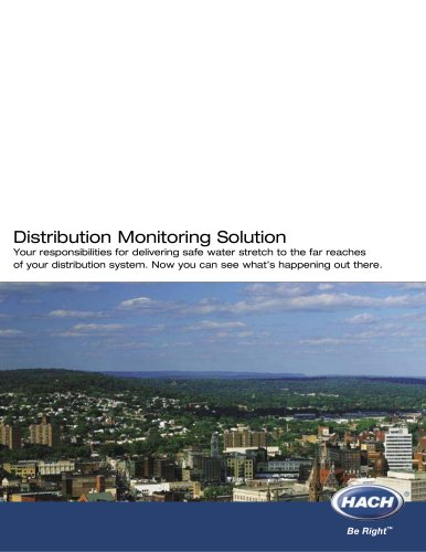 Distribution Monitoring Solution Brochure