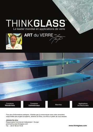 ThinkGlass - Art du verre par Mailhot