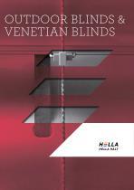 Outdoor blinds+Venetian blinds