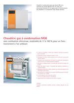 Chaudière gaz à condensation MGK - 2