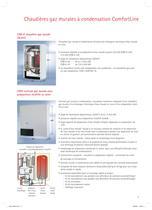 Chaudières gaz murales ComfortLine - 3