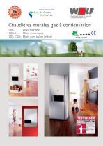 Chaudières murales gaz à condensation - 1