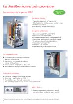 Chaudières sol condensation fioul COB - 2