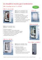 Chaudières sol condensation fioul COB - 3