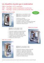 Chaudières sol condensation fioul COB - 4