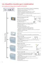 Chaudières sol condensation fioul COB - 6