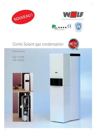 Combi Solaire gaz condensation