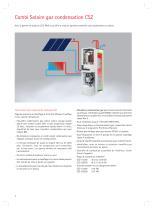 Combi Solaire gaz condensation - 2