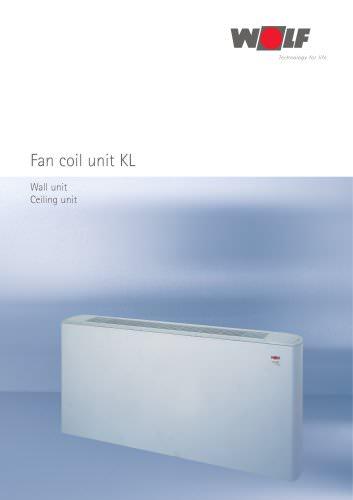 Fan coil unit KL