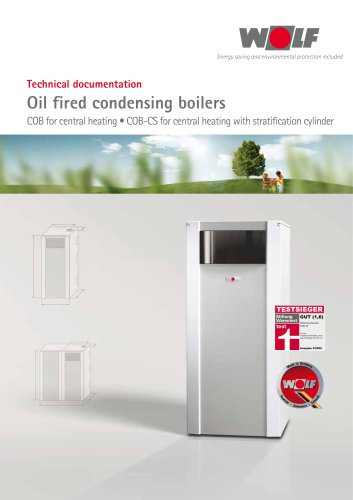 Oil fired condensing boilers COB / COB-CS