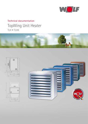 TopWing Unit Heater TLH - TLHK
