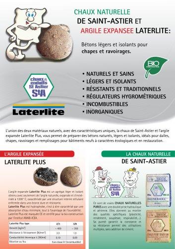 Bétons de Chaux de Saint-Astier & Argile Expansée Laterlite