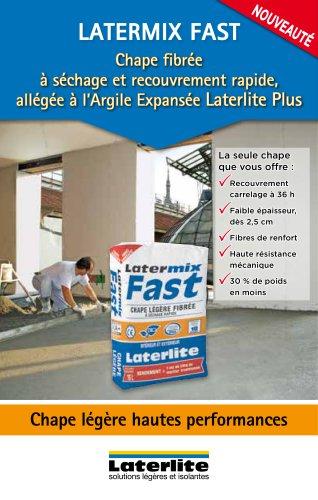 Latermix Fast - Chape légère hautes performances
