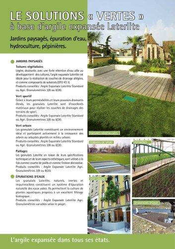 Solutions pour le Vert
