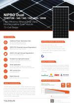 NIPRO Dual TD6D72M - 340 / 345 / 350 / 355 / 360W