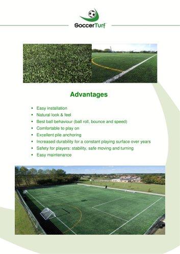 Advantages of 3G SoccerTurf - Download Here