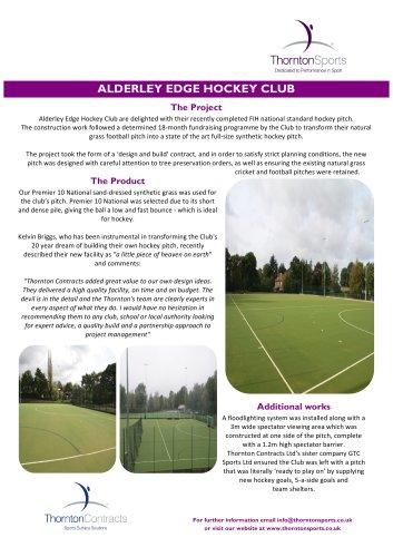 Alderley Edge Case Study -
