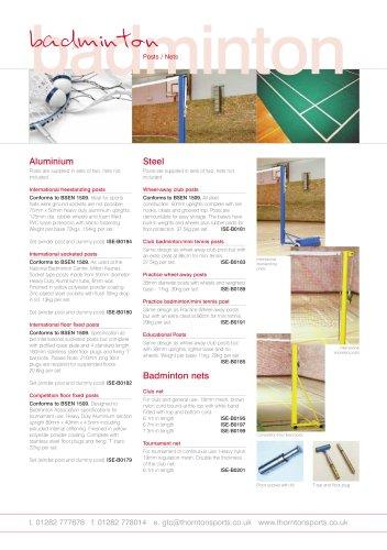 Badminton Equipment -
