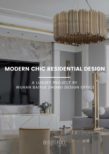 Modern Chic Residential Design | A Luxury Project By Wuhan Baiyue Zhumei Design Office