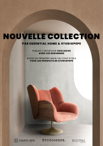 Nouvelle Collection Par Essential Home & Studiopepe