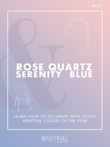 Rose Quartz & Serenity Blue