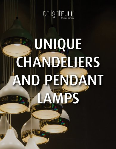 Unique Chandeliers and Pendant Lights