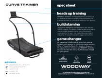 CURVE TRAINER spec sheet